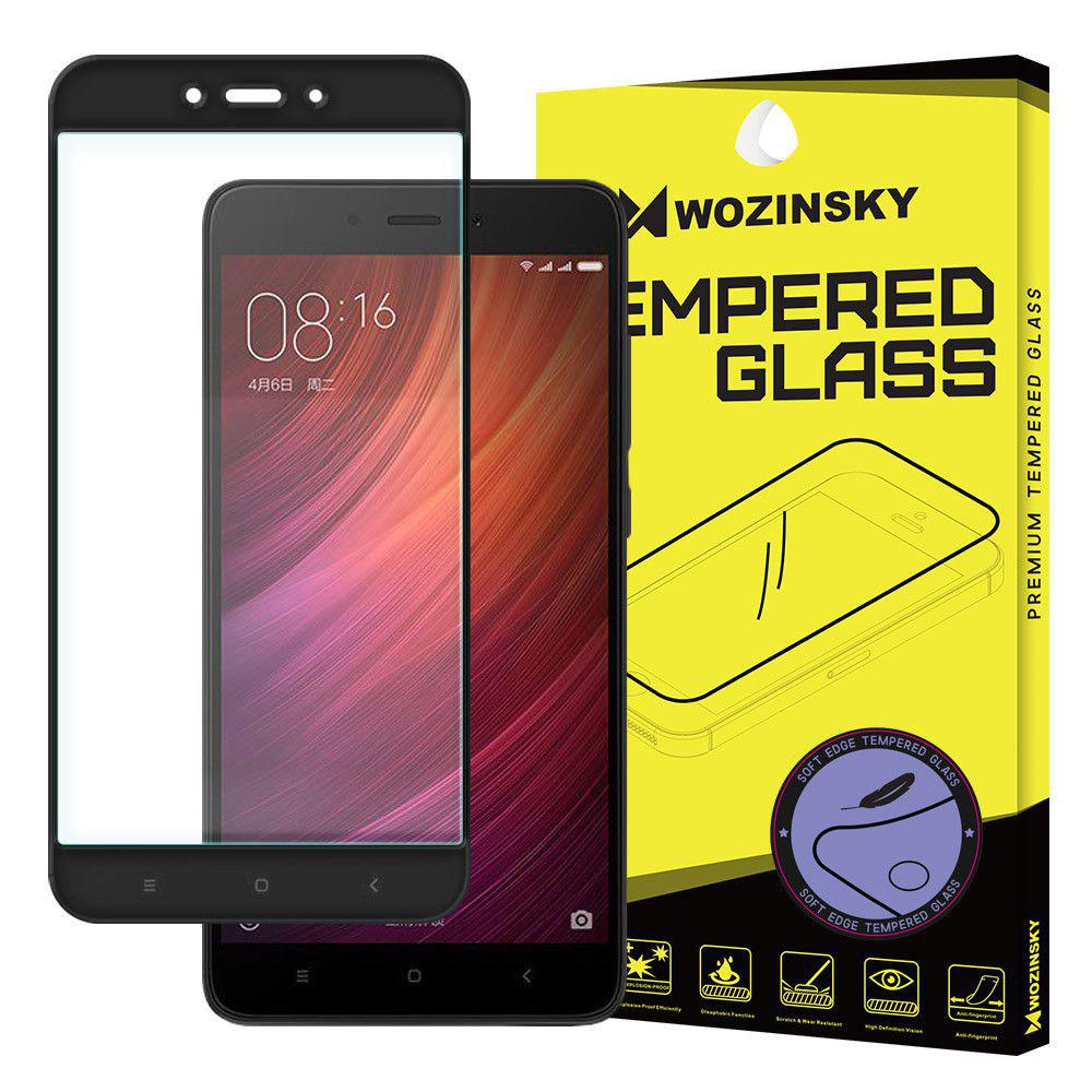 tempered glass screen protector pet xiaomi redmi note 4 black. Black Bedroom Furniture Sets. Home Design Ideas
