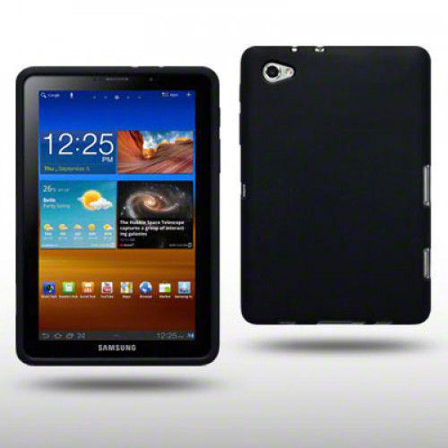 Θήκη Σιλικόνης Samsung P6800 Galaxy Tab 7.7 PU by Warp Black