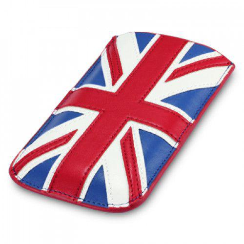 Θήκη PU Leather Pocket Case Cover Sleeve για iPhone 5 , XPERIA P, Motorola RAZR I Union Jack