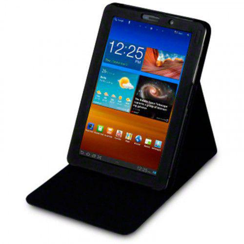 Θήκη Samsung P6800 Galaxy Tab 7.7 PU Leather Wallet Case by Warp - Flip Black