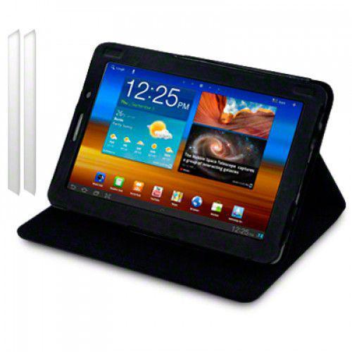 Θήκη Samsung P6800 Galaxy Tab 7.7 PU Leather Wallet Case by Warp - Black