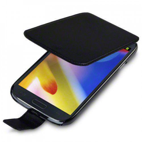 Θήκη Flip για Samsung Galaxy Grand i9080 PU Leather by Warp Black
