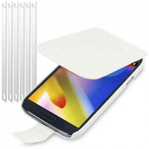 Θήκη Flip για Samsung Galaxy Grand i9080 PU Leather by Warp White