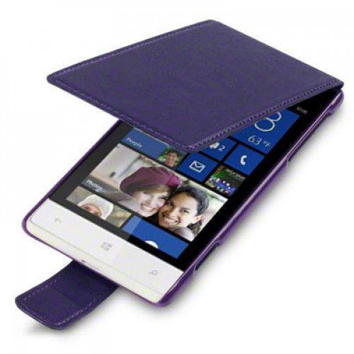 Θήκη Flip για Htc Windows 8S Purple