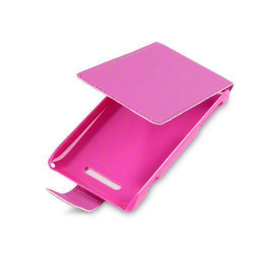 Θήκη Flip για Sony Xperia E C1505 Pink