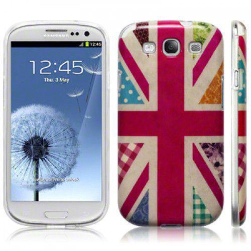 Θήκη TPU Gel για Samsung Galaxy S3 i9300 Floral Union Jack