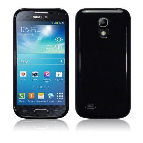 Θήκη TPU Gel για Samsung Galaxy S4 Mini I9190 / i9195 Solid Black by Warp