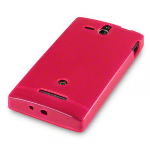Θήκη TPU Gel για Sony Xperia U ST25i Hot Pink by Warp