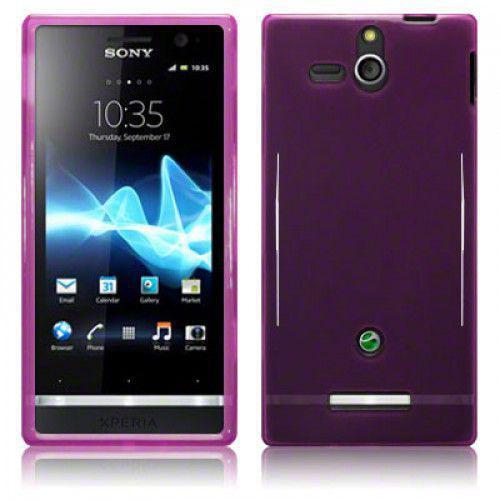 Θήκη TPU Gel για Sony Xperia U ST25i Purple by Warp