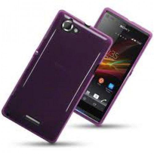 Θήκη TPU Gel για Sony Xperia L C2105 Purple by Warp