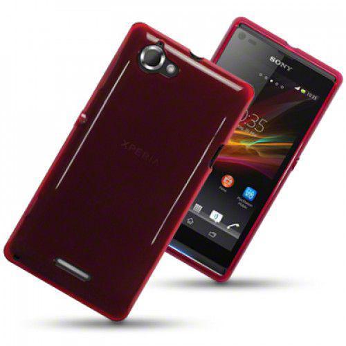 Θήκη TPU Gel για Sony Xperia L C2105 Red by Warp