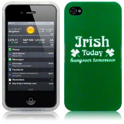 Θήκη TPU Gel για Apple iPhone 4 / 4S Irish Today by Warp