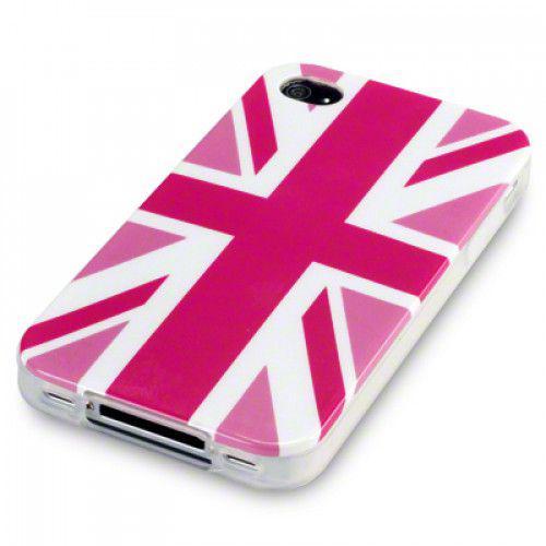 Θήκη TPU Gel για Apple iPhone 4 Cool Britannia by Warp