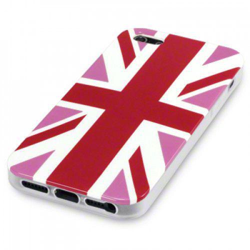 Θήκη TPU Gel για Apple iPhone 5 Pink Union by Warp