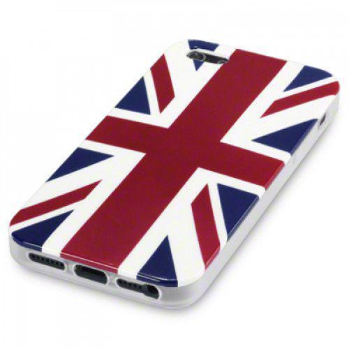 Θήκη TPU Gel για Apple iPhone 5 Union Jack by Warp