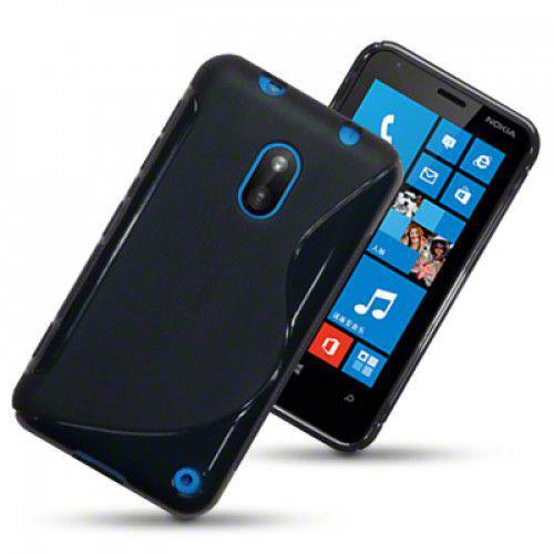 Θήκη Σιλικόνης για Nokia Lumia 620 μαύρη