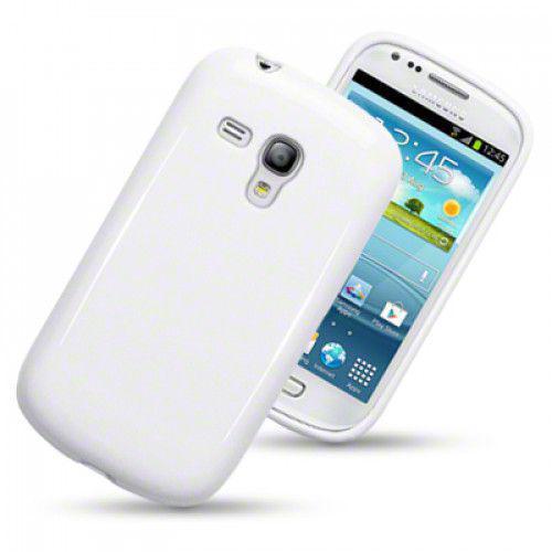 Θήκη TPU Gel για Samsung Galaxy S3 mini i8190 Solid White