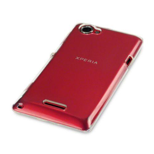 Θήκη TPU Gel για Sony Xperia L C2105 Solid Clear by Warp -πλήρως διάφανη!