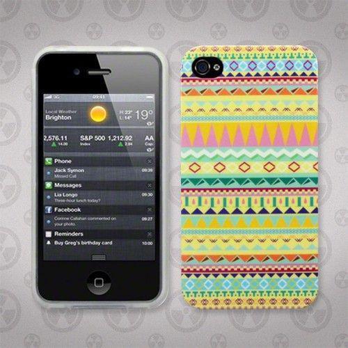 Θήκη TPU Gel για iPhone 4/4s Aztec Yellow by Warp