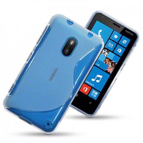 Θήκη Σιλικόνης για Nokia Lumia 620 διάφανη