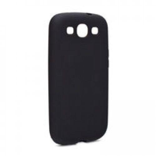 Θήκη Enjoy Soft Grip Skin για Samsung Galaxy S3 i9300 black