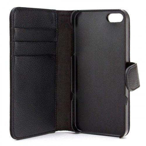 Θήκη Xqisit Wallet για iPhone 5 black