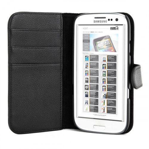 Θήκη Xqisit Wallet Case για Galaxy S3 black