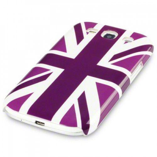 Θήκη για Samsung Galaxy S3 i9300 Purple Union Jack