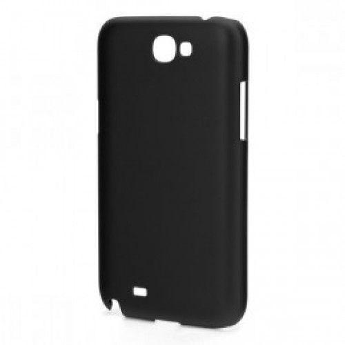 Xqisit iPlate Glossy για Galaxy Note 2 N7100 black