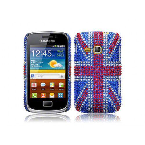 Θήκη Samsung S6500 Galaxy Mini 2 Diamante Union Jack By Warp