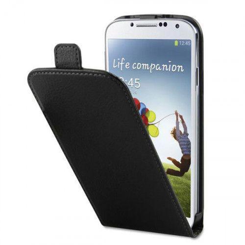 Θήκη Xqisit Flipcover για Galaxy S4 I9500 black