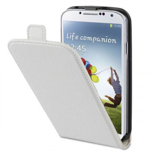 Θήκη Xqisit Flipcover για Galaxy S4 i9500 white