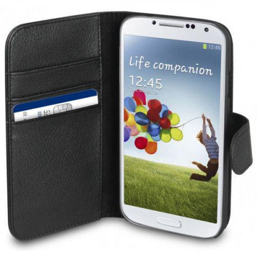 Θήκη Xqisit Wallet Case για Galaxy S4 I9500 black