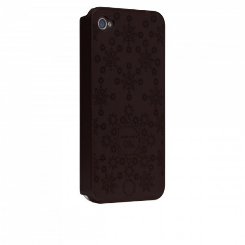 Case-Mate iPhone 4 Daisy Cases Black