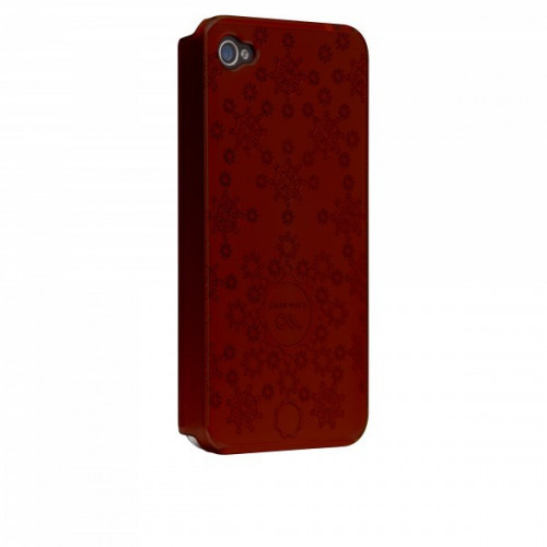 Case-Mate iPhone 4 Daisy Cases Red