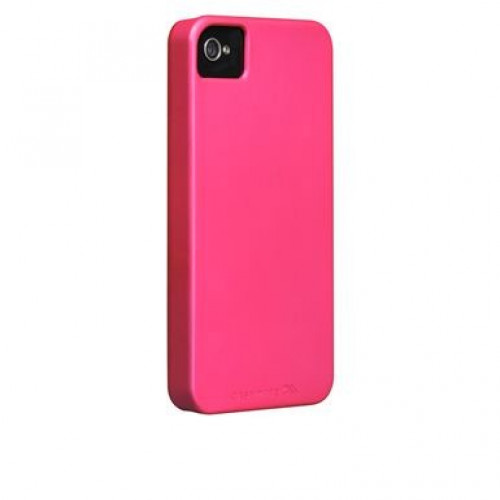 Case-Mate Barely There iPhone 4s - Electric Pink