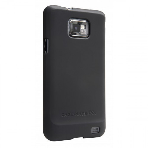 Case-mate Barely There Cases Samsung Galaxy S2 in Black Rubber