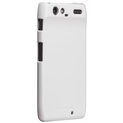 Case-mate Barely There Cases for Motorola RAZR in White