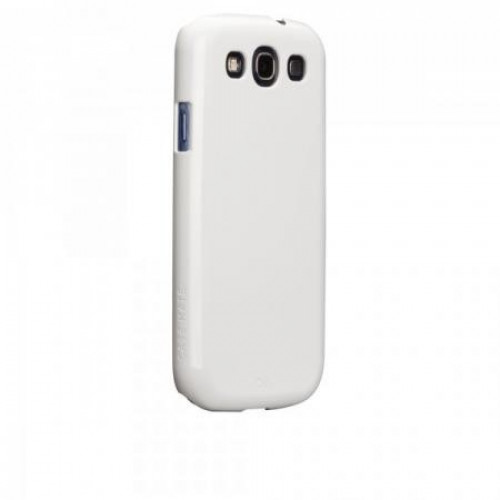 Case-mate Barely There Cases for Samsung Galaxy S3 in White i9300
