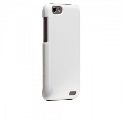 Case-mate Barely There Cases for HTC One V in White