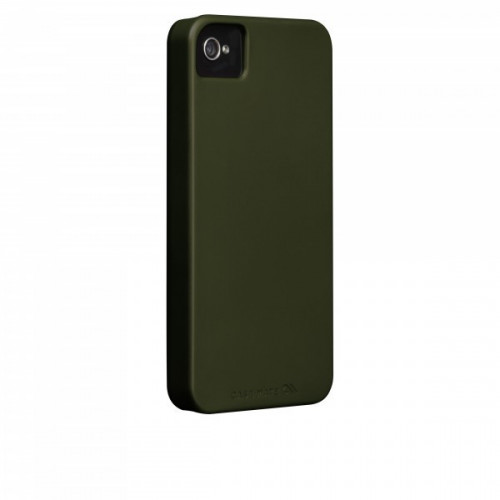 Case-mate Barely There Cases for Apple iPhone 4/4s in Military Green
