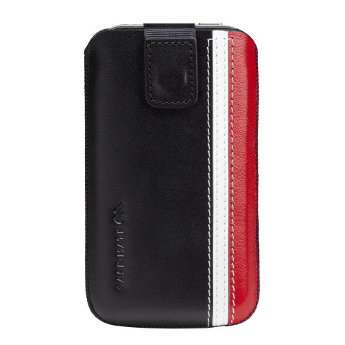 Case-mate Signature Racing Stripe Pouches for iPhone in Black