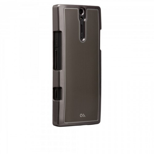 Case-mate Barely There Brushed Aluminum Cases for Sony Xperia S in Silver