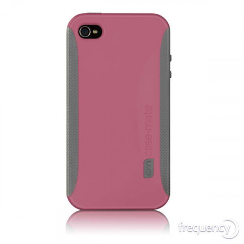 Case-Mate iPhone 4/4S Pop Case Pink & Grey