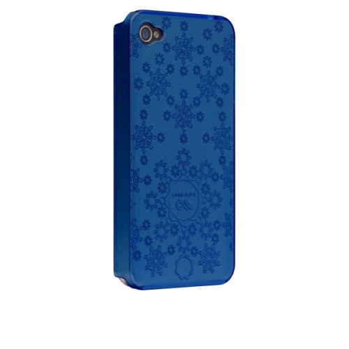 Case-Mate iPhone 4 Daisy Cases BLUE