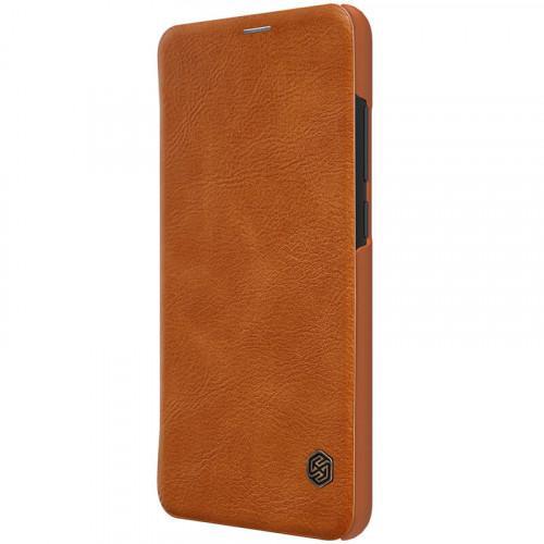 Θήκη Nillkin Qin Book για Xiaomi Redmi Note 6 PRO καφέ χρώματος ( δερμάτινη)