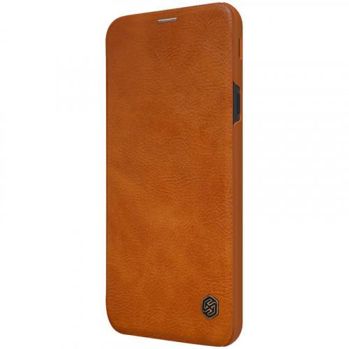 Θήκη Nillkin Qin Leather Book για Samsung Galaxy J4 Plus J415 brown