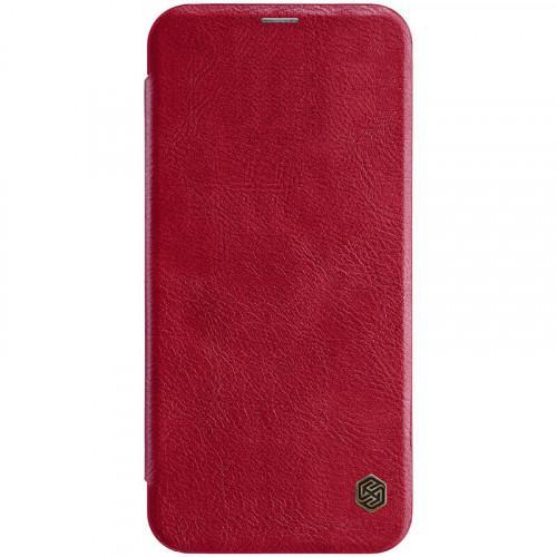 Θήκη Nillkin Qin Leather Book για Samsung Galaxy J4 Plus J415 red