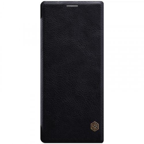 Θήκη Nillkin Qin Book για Sony Xperia 10 μαύρου χρώματος ( Δερμάτινη)