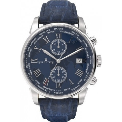 Executive Watches Double Breasted EX-1002-02